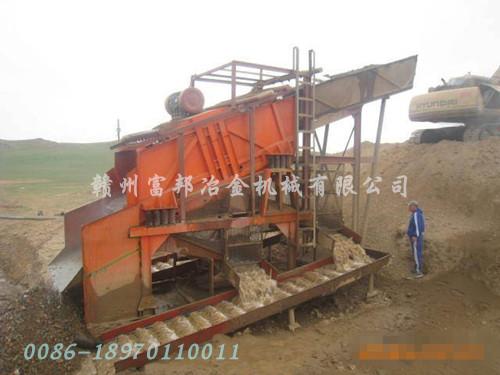 沙金矿开采设备
